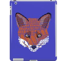 What does the fox say? iPad Case/Skin