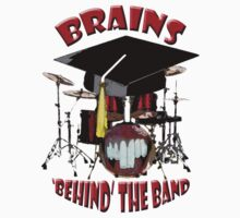 BRAINS behind the BAND Kids Tee