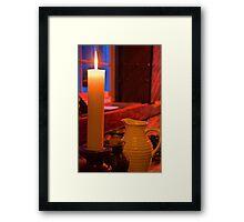 Ireland. Knappogue Castle Medieval Banquet. Still Life. Framed Print