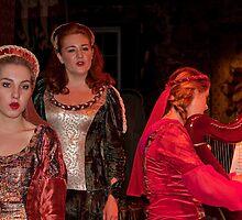 Ireland. Knappogue Castle Medieval Banquet. Performance. by vadim19