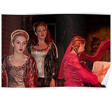 Ireland. Knappogue Castle Medieval Banquet. Performance. Poster