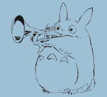 Totoro Trumpeter One Piece - Short Sleeve
