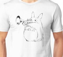 Totoro Trumpeter Unisex T-Shirt