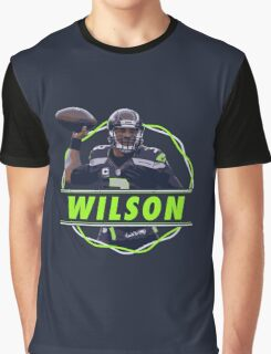 Russell Wilson - Seattle Seahawks Graphic T-Shirt