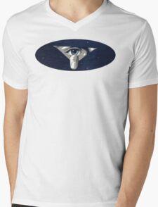 Torn Eye Mens V-Neck T-Shirt