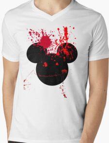 Bloody Mickey  Mens V-Neck T-Shirt