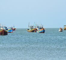 Fish Village 02 by fotosvn