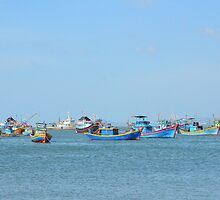 Fish Village 04 by fotosvn