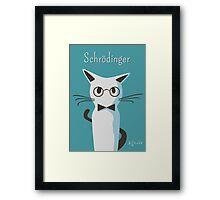 Schrodinger Framed Print