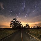 Geminids in Australia by Steven  Sandner