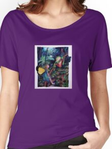 Fairy and Frog Women's Relaxed Fit T-Shirt