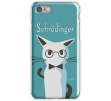 Schrodinger iPhone Case/Skin