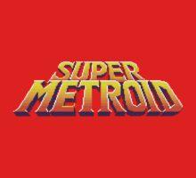 Super Metroid Logo One Piece - Short Sleeve