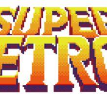 Super Metroid Logo Sticker