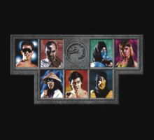 Mortal Kombat Character Select by sdavis32