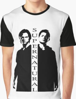 Supernatural Winchester Brothers Graphic T-Shirt