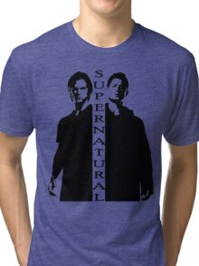 Supernatural Winchester Brothers Tri-blend T-Shirt