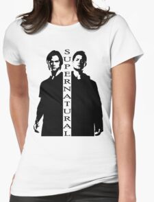 Supernatural Winchester Brothers Womens Fitted T-Shirt