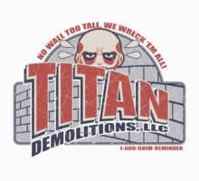 Titan Demolitions, LLC (Alternate Colors) T-Shirt