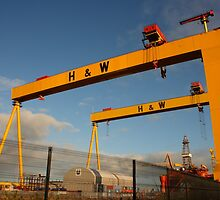 Samson And Goliath by Adrian McGlynn