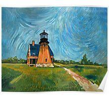 Block Island Lighthouse Poster