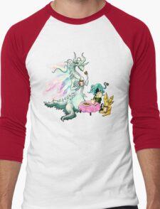 Seath's Private Tea Party Men's Baseball ¾ T-Shirt