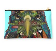 American Eagle blue Studio Pouch