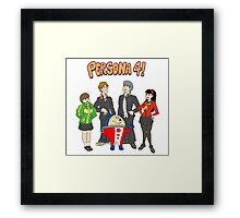 Persona 4 Scooby Doo Framed Print