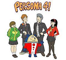 Persona 4 Scooby Doo Photographic Print
