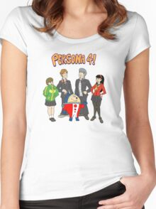 Persona 4 Scooby Doo Women's Fitted Scoop T-Shirt