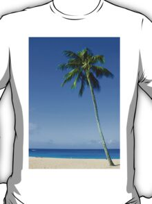Palm Tree, Waimea Bay, Oahu, Hawaii T-Shirt
