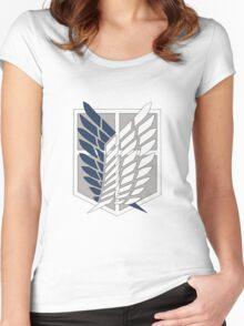 Wings Of Freedom [Shingeki No Kyojin] Women's Fitted Scoop T-Shirt