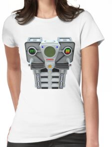 Take control robotic armour Womens Fitted T-Shirt