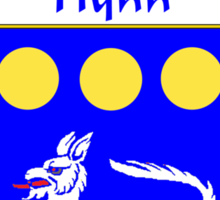 Flynn Coat of Arms/Family Crest Sticker