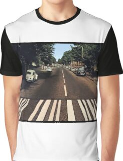 Blank Abbey road - no beatles Graphic T-Shirt