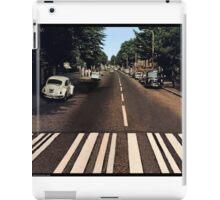 Blank Abbey road - no beatles iPad Case/Skin