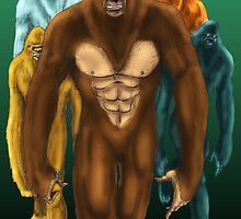 Sasquatch Gang by Luke Kegley