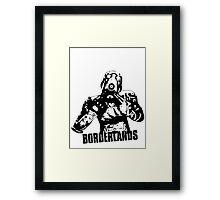 Psycho - Borderlands Framed Print