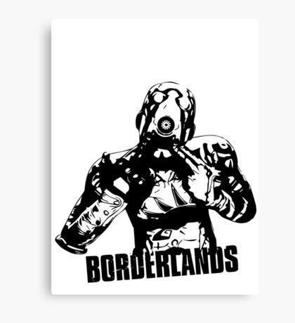 Psycho - Borderlands Canvas Print