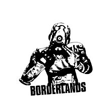Psycho - Borderlands Photographic Print