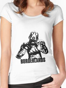 Psycho - Borderlands Women's Fitted Scoop T-Shirt