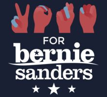 Vote Bernie - Deaf for Bernie Sanders (Sign Language) Fundraising Merchandise by AndrewHart