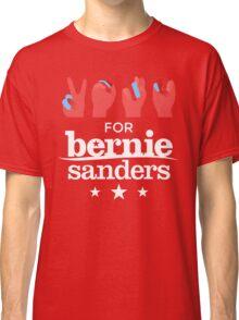 Vote Bernie - Deaf for Bernie Sanders (Sign Language) Fundraising Merchandise Classic T-Shirt