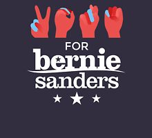 Vote Bernie - Deaf for Bernie Sanders (Sign Language) Fundraising Merchandise T-Shirt