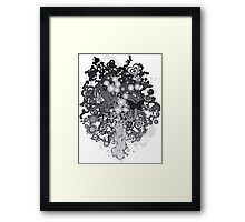 Floral_Flow Framed Print