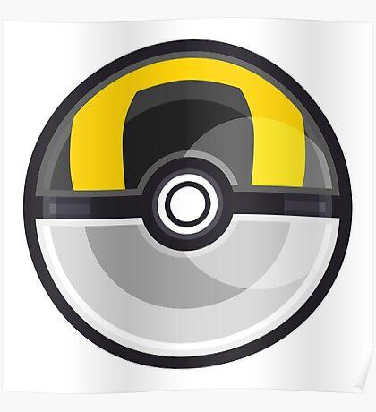 Pokemon Ultra Ball Poster