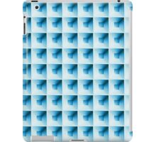 Compartment Design Blue iPad Case/Skin