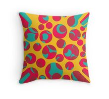 Psychedelic cheese Throw Pillow