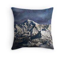 Mt. Everest Throw Pillow