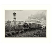 Tornado - antique print effect Art Print